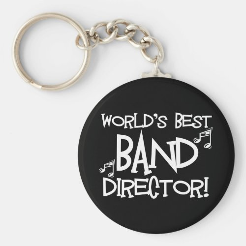 Worlds Best Band Director Keychain