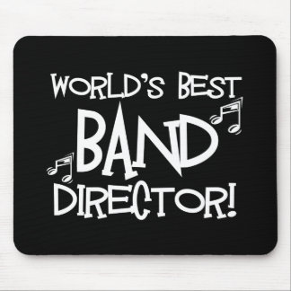 World's Best Band Director Mouse Pad