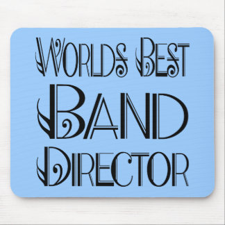 World's Best Band Director Mousepad