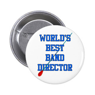World's Best Band Director Pin