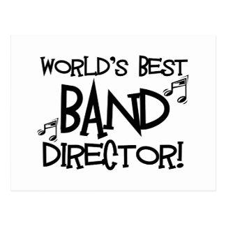 World's Best Band Director Postcards