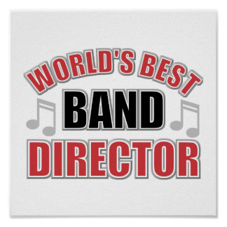 World's Best Band Director Poster