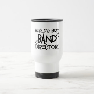 World's Best Band Director Travel Mug
