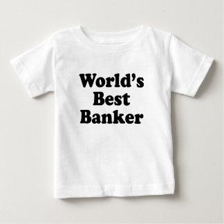 World's Best Banker Baby T-Shirt