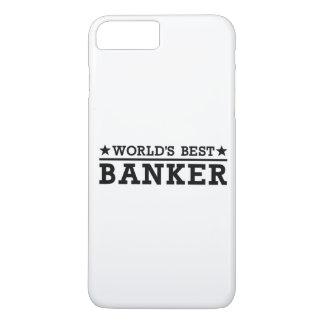 World's best banker iPhone 8 plus/7 plus case