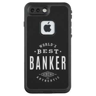 World's Best Banker LifeProof FRĒ iPhone 7 Plus Case