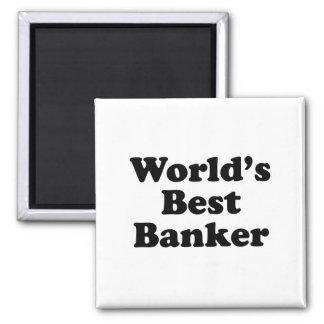 World's Best Banker Magnet