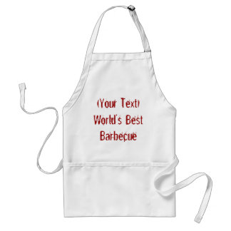 World's Best Barbecue , Your Text Apron