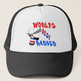 World's Best Barber Hat
