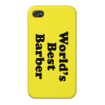 World's Best Barber iPhone 4/4S Cases