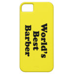 World's Best Barber iPhone 5 Cover
