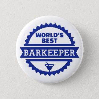 World's best barkeeper bartender button