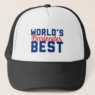 World's Best Bartender Trucker Hat