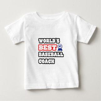 World's Best Baseball Coach Baby T-Shirt