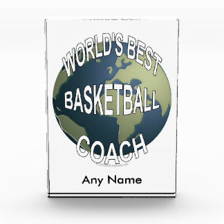 World's Best Basketball Coach Award