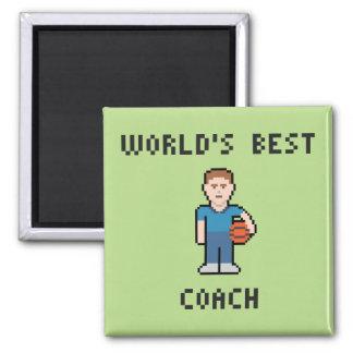 World's Best Basketball Coach Magnet