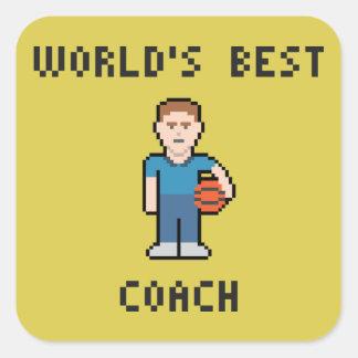 World's Best Basketball Coach Sticker