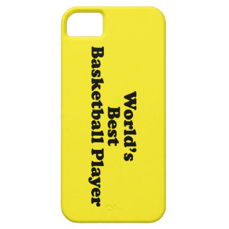World's Best Basketball Player iPhone SE/5/5s Case