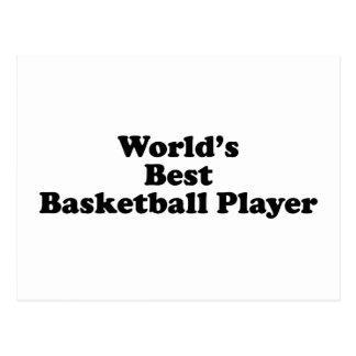 World's Best Basketball Player Postcard