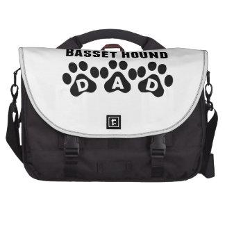 World's Best Basset Hound Dad Bag For Laptop