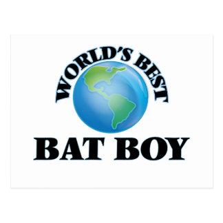 World's Best Bat Boy Postcard