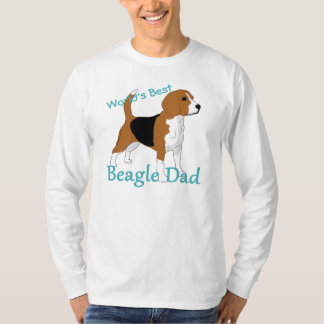 World's Best Beagle Dad Personalized Shirt