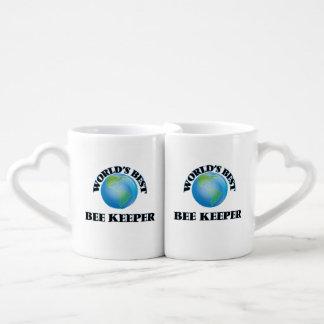 World's Best Bee Keeper Couples' Coffee Mug Set