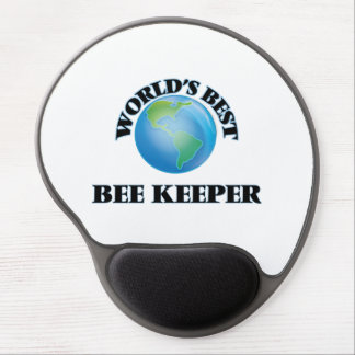 World's Best Bee Keeper Gel Mouse Pads