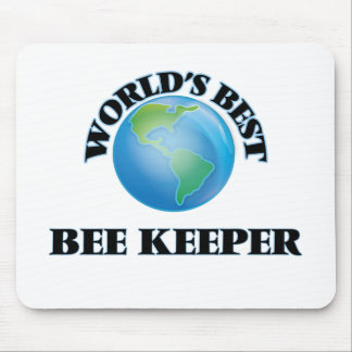 World's Best Bee Keeper Mousepad