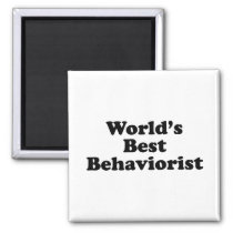 World's Best Behaviorist Magnet