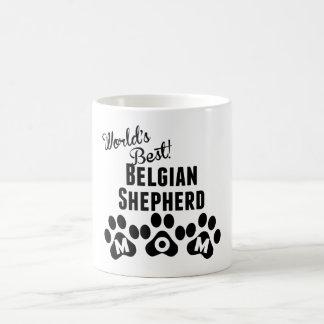 World's Best Belgian Shepherd Mom 11 Oz Magic Heat Color-Changing Coffee Mug
