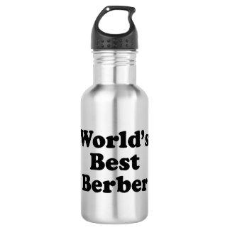 World's Best Berber Stainless Steel Water Bottle