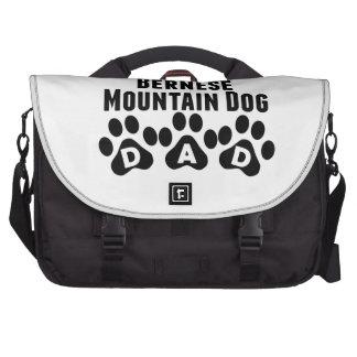 World's Best Bernese Mountain Dog Dad Computer Bag