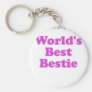 Worlds Best Bestie Keychain