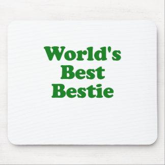 Worlds Best Bestie Mouse Pad