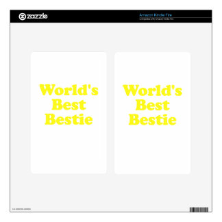 Worlds Best Bestie Skins For Kindle Fire