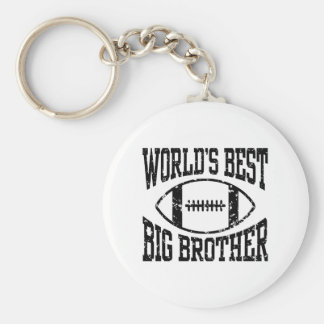 World's Best Big Brother Keychain