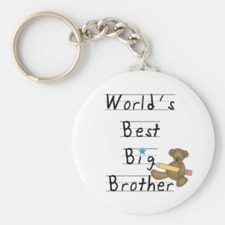 World's Best Big Brother Key Chains