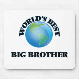 World's Best Big Brother Mouse Pads
