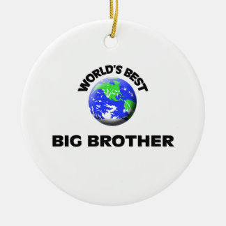 World's Best Big Brother Christmas Tree Ornaments