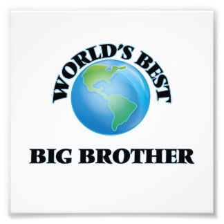 World's Best Big Brother Photo Art