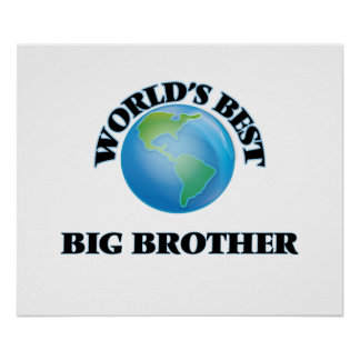 World's Best Big Brother Poster