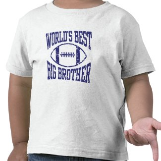 World's Best Big Brother T Shirts