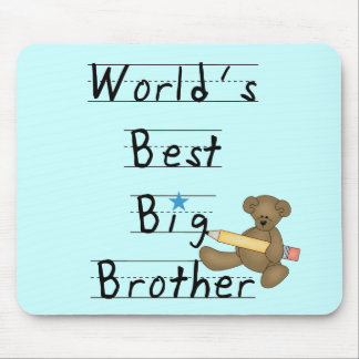 World's Best Big Brother Tshirts and Gifts Mouse Pad