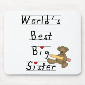 World's Best Big Sister Mouse Pad