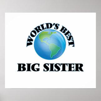 World's Best Big Sister Poster