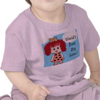 World's Best Big Sister T Shirt T Shirt