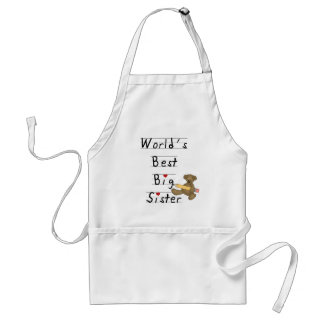 World's Best Big Sister Tshirts and Gifts Adult Apron