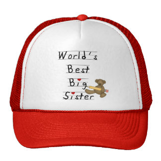 World's Best Big Sister Tshirts and Gifts Trucker Hat