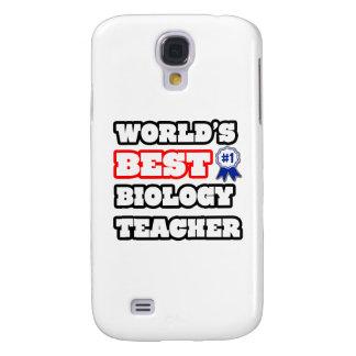 World's Best Biology Teacher Samsung Galaxy S4 Case